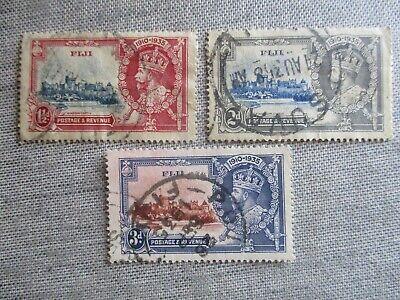 Fiji, Scott#110-112, used
