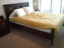 Great looking ,comfortable 6 month old madang queen bed Homebush Strathfield Area Preview