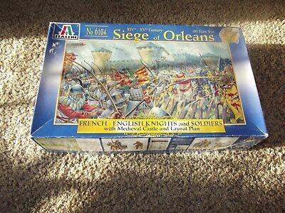 Italeri Seige of Orleans 1/72 scale Set no. 6104
