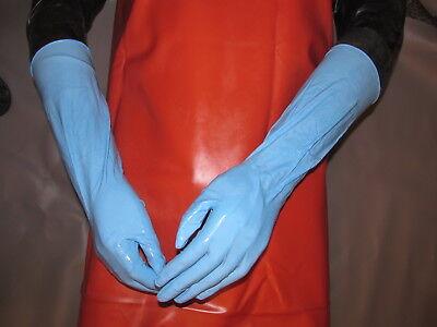 25 Paar/Box,extra lange Nitril-Handschuhe,k. Gummihandschuhe,S/7-die Besten