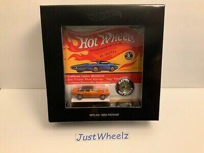Hot Wheels 2018 HWC / RLC Original 16 Series Custom Cougar MIMB 4,936 of 6,000