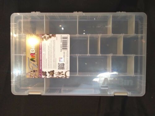 "ArtBin Tarnish Inhibitor Solutions Box Mult Compartments 14""X8.5""X2""-6 Pack Deal"