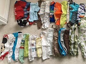 Baby Boy Clothes - 6 & 9 months