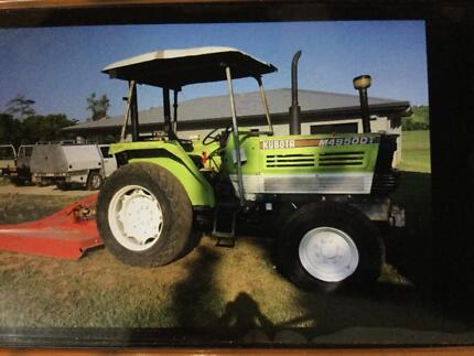 Kubota Tractor Gordonvale Cairns City Preview
