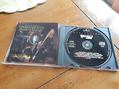 Thin Lizzy CD 1991 Dedication The very best of Thin Lizzy Mercury Club