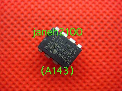 5p Tda7052a Philips 1w Single-ic Btl Audio Amplifier Dip-8