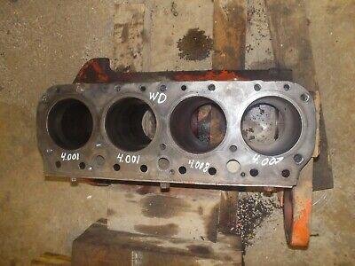 Allis Chalmers Wd Tractor Original Ac Gas Engine Motor Block Wd
