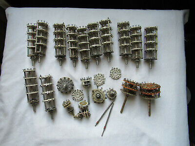 Huge Lot Nos Rotary Switches Oak Crl 4-pole Others Ceramic Amp Build