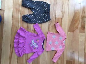 Lot de vêtements 3 mois bébé fille