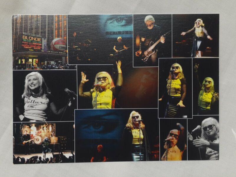 """5""""x7"""" Blondie (Debbie Harry) Postcard, 2-sided"""