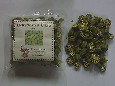 Okra Dehydrated for Gumbo