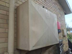 Esso oil tank with oil Deakin South Canberra Preview