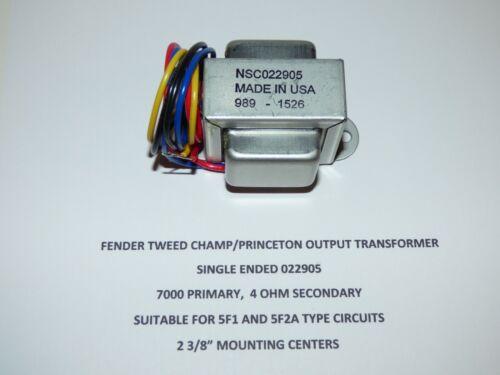 Tweed Champ/Tweed Princeton Output Transformer, 5F1, 5F2A,  USA made