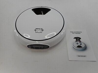 TDYNASTY DESIGN Automatic Pet Food Dispenser with Voice Recorder