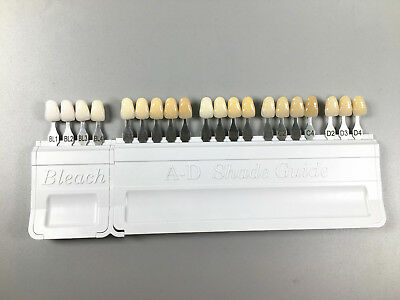 1 Box Ivoclar Vivadent Dental Porcelain A-d Color Shade Guide Bleach Casting Cad