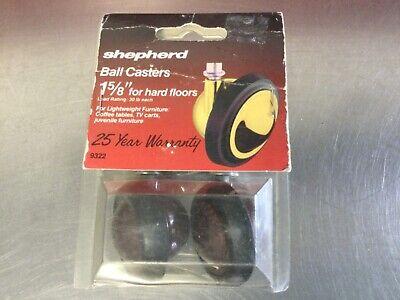 Vintageshepherdball Casters 1 58 For Hard Floors Model 9322
