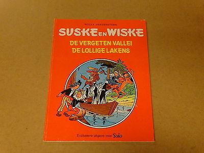 STRIP / SUSKE EN WISKE: DE VERGETEN VALLEI - DE LOLLIGE LAKENS | 1ste druk