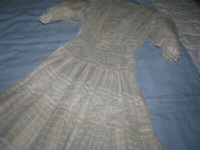 Vintage Gold Bouillon Dress Parts Victorian Edwardian Antique