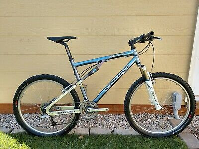 "Titus Racer-X Mountain Bike 20"" Large 27 Speed Marzocchi Mavic"