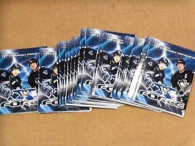 Pgh Penguins, 20 Schedules, 2005-06 (20) Crosby Rookie Year, ALL THE SAME, Clean