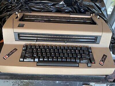 Vintage Ibm Correcting Selectric Iii Electric Typewriter Cracked Hubpulley