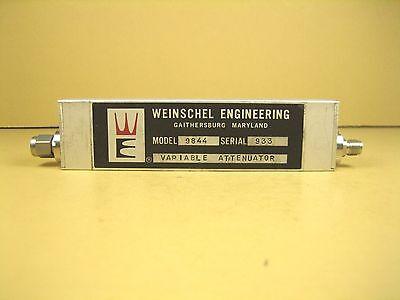Weinschel Model 9844 Variable Attenuator