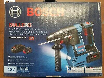 Bosch Bulldog Core 18v - 1 Sds-plus Rotary Hammer - Brushless