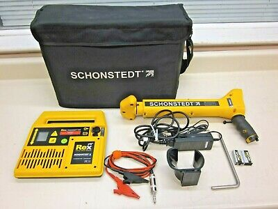 Schonstedt Rex Multi-frequency Pipe Cable Locating System W Case Ships Free