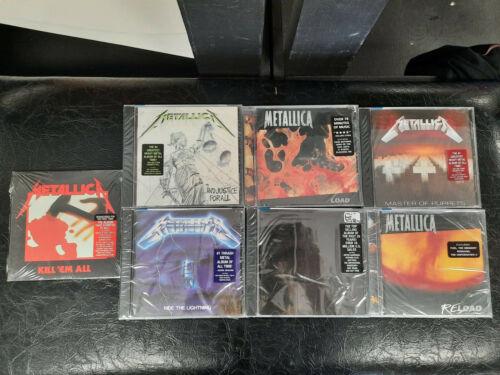 METALLICA Lot of 7 CDs NEW UNOPENED Metal CD Lot