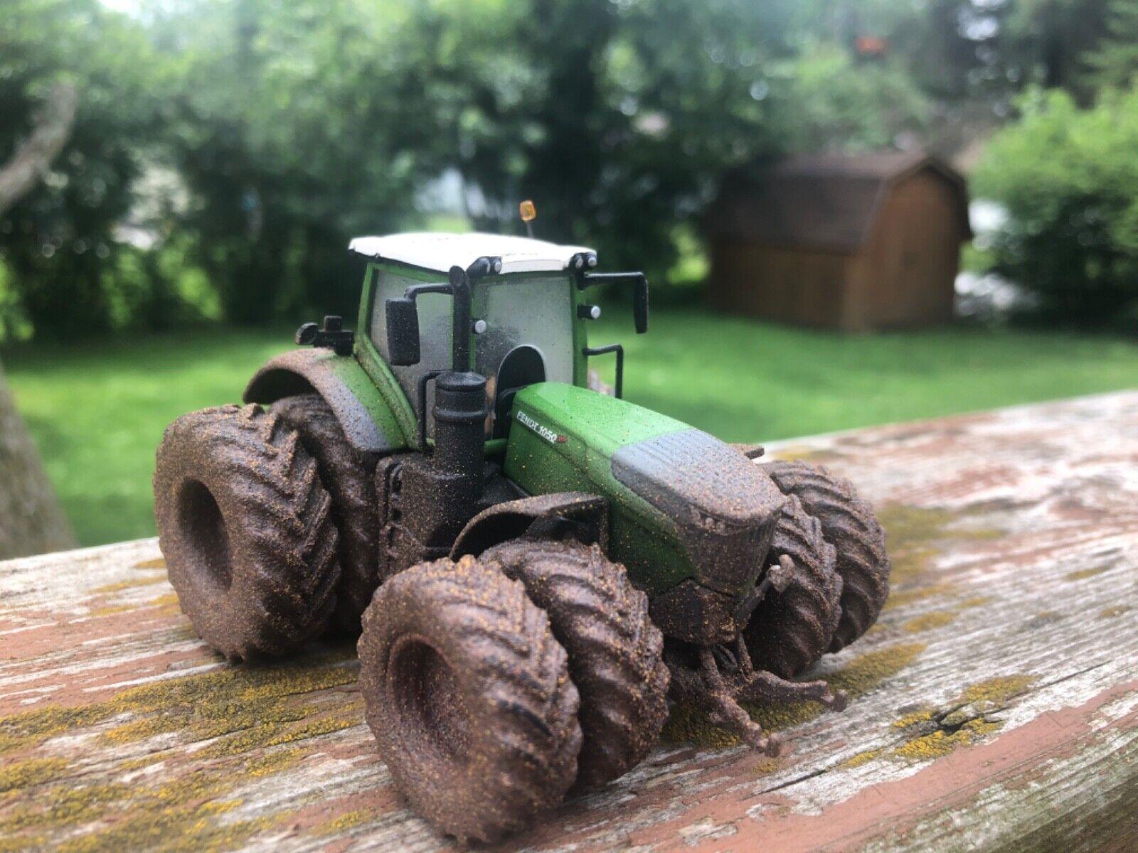 1/64 fendt farm show 2020 wide tire custom muddy