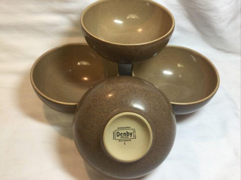 Denby Oven Safe, Freezer, Dishwasher , Microwave Safe Cereal Bowls England
