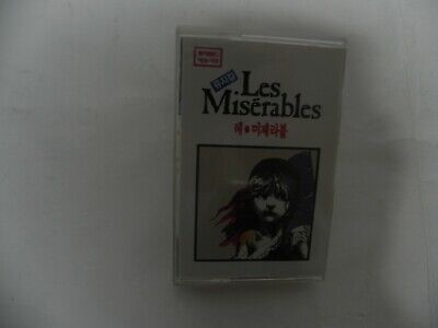 Les Miserbles - Korean Cast Extremely Rare KOREA Cassette Tape Very Collectible