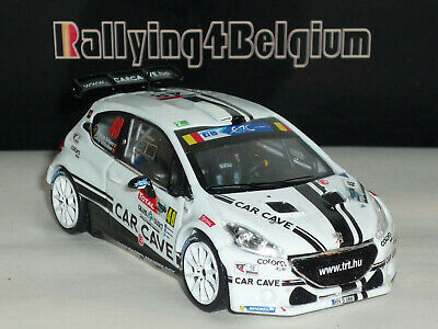 1/43 IXO Peugeot 208 T16 R5 #48 ERC Rally Ieper Ypres 2016 Snijers RRS225