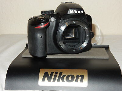 Mint Nikon D3200 24MP Digital SLR Kamera - Schwarz (Körper)+Garantie (Digitale Slr-kamera, 3200)