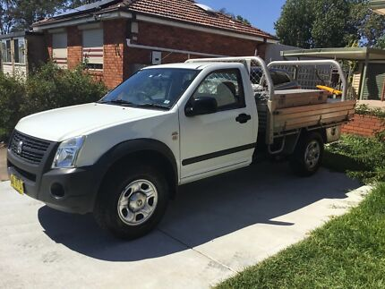 2008 HOLDEN RODEO AUTO TOOL BOXES GOING CHEAP