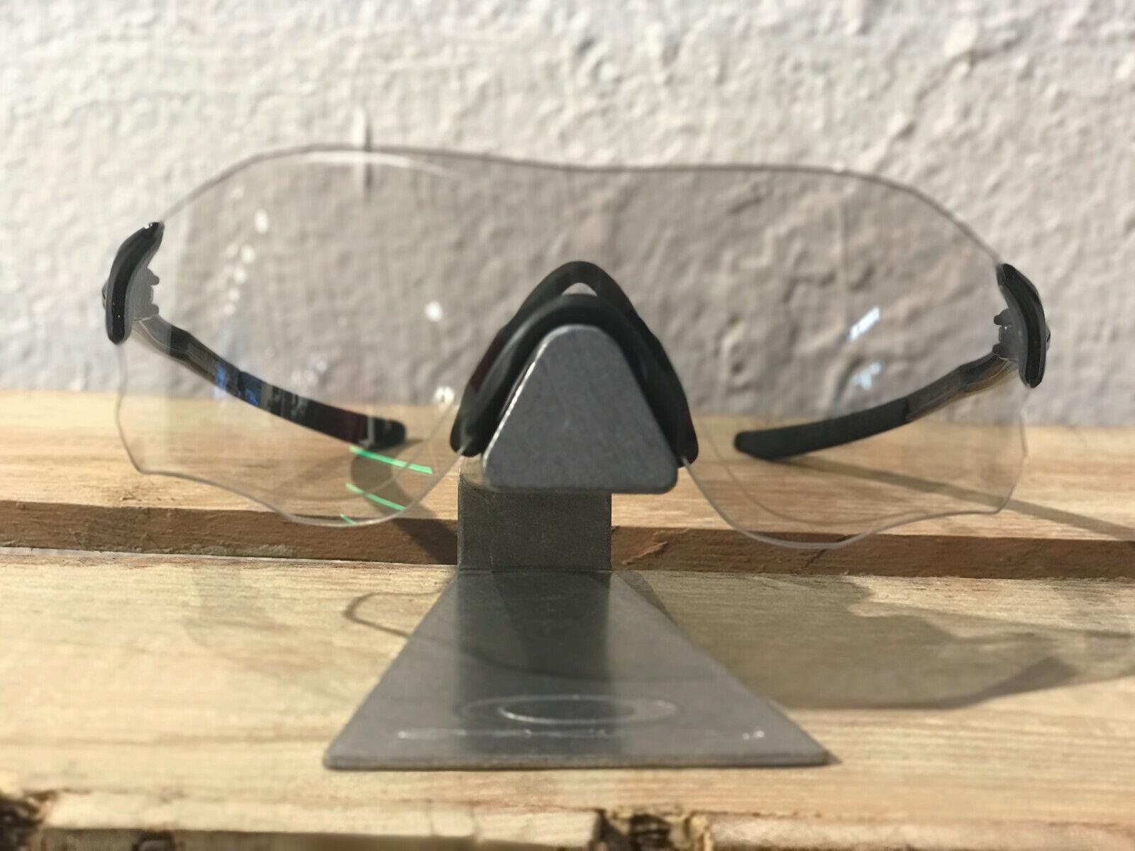OAKLEY EVZERO PATH schwarz selbsttönend photochromic Road /MTB Brille OO930813