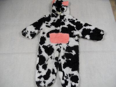 KARNEVALSWIERTS warmer Overall KUH Gr. 92 TOP - Weibliche Kuh Kostüm