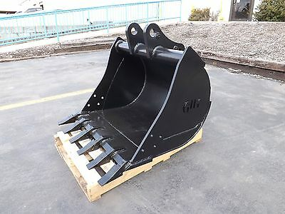 New 36 John Deere 410j Backhoe Bucket With Coupler Pins