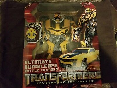 Transformers revenge of the fallen ultimate bumblebee battle charged NEW (Transformers The Ultimate Battle)