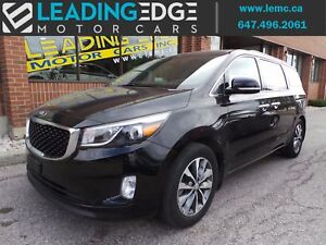 2016 Kia Sedona SX+ Leather - 7 Passenger