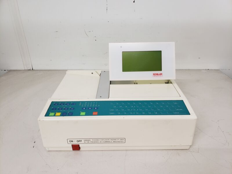 Schiller America CS-6/12 EKG/ECG Machine