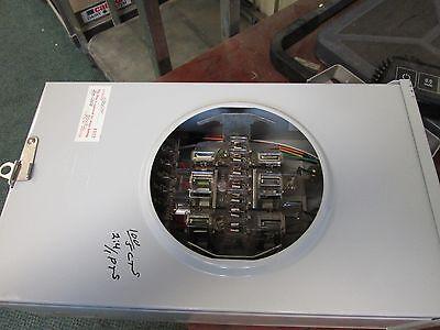 Landis Gyr Meter Socket 9804-8420 100a Max 600v 3ph Hq-13t Used