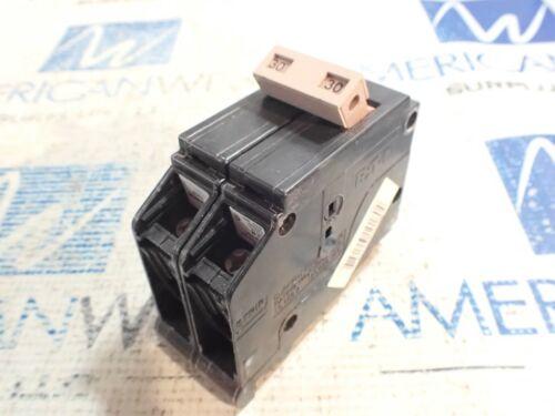 1 NEW EATON Cutler Hammer CH230 2 pole 30 amp plug in 120/240 volt circuit break