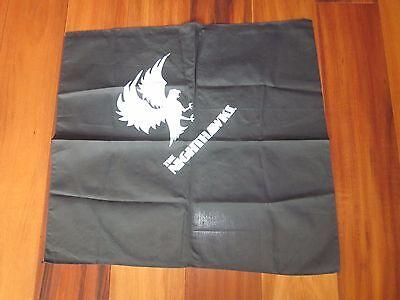 THE NIGHTHAWKS BANDANA BLACK WITH WHITE SILKSCREEN