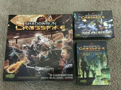 Catalyst Shadowrun Deck-Build Shadowrun Crossfire Collection - Base Game + 3 NM