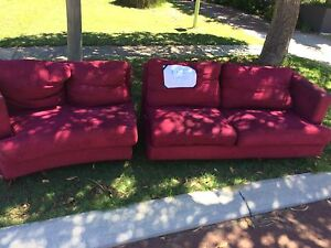 Free modular couch lounge sofa Trigg Stirling Area Preview