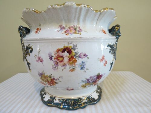 Antique Planter or Jardiniere Marked Etruria, Trenton NJ 1872 - 1892