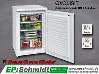 ✅ Gefrierschrank Exquisit GS 12-4   A++   84 l   55cm   NEUWARE Thüringen - Artern/Unstrut Vorschau