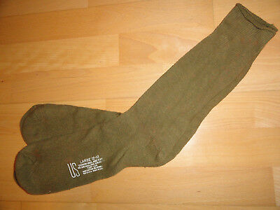 US ARMY MEDIUM or LARGE VIETNAM SOCKS OLIVE-GREEN BOOTS DESERT STORM USMC aa1z