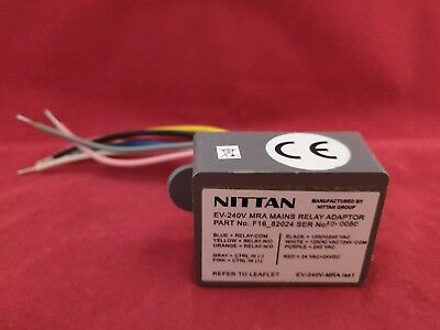 NITTAN EV-240V MRA MAIN SWITCH RELAY ADAPTOR
